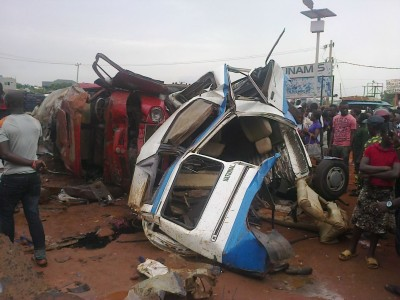Tanker accident at Akwa