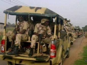 Nigerian troops to Borno