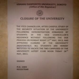 UDU Closure