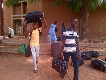 Usman Danfodiyo University Students on the run1