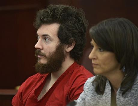 James Holmes and Defense Attorney Tamara Brady