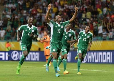 Nigeria vs Uruguay
