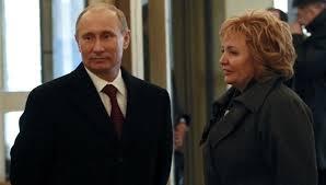 Vladimir Putin and wife Lyudmila